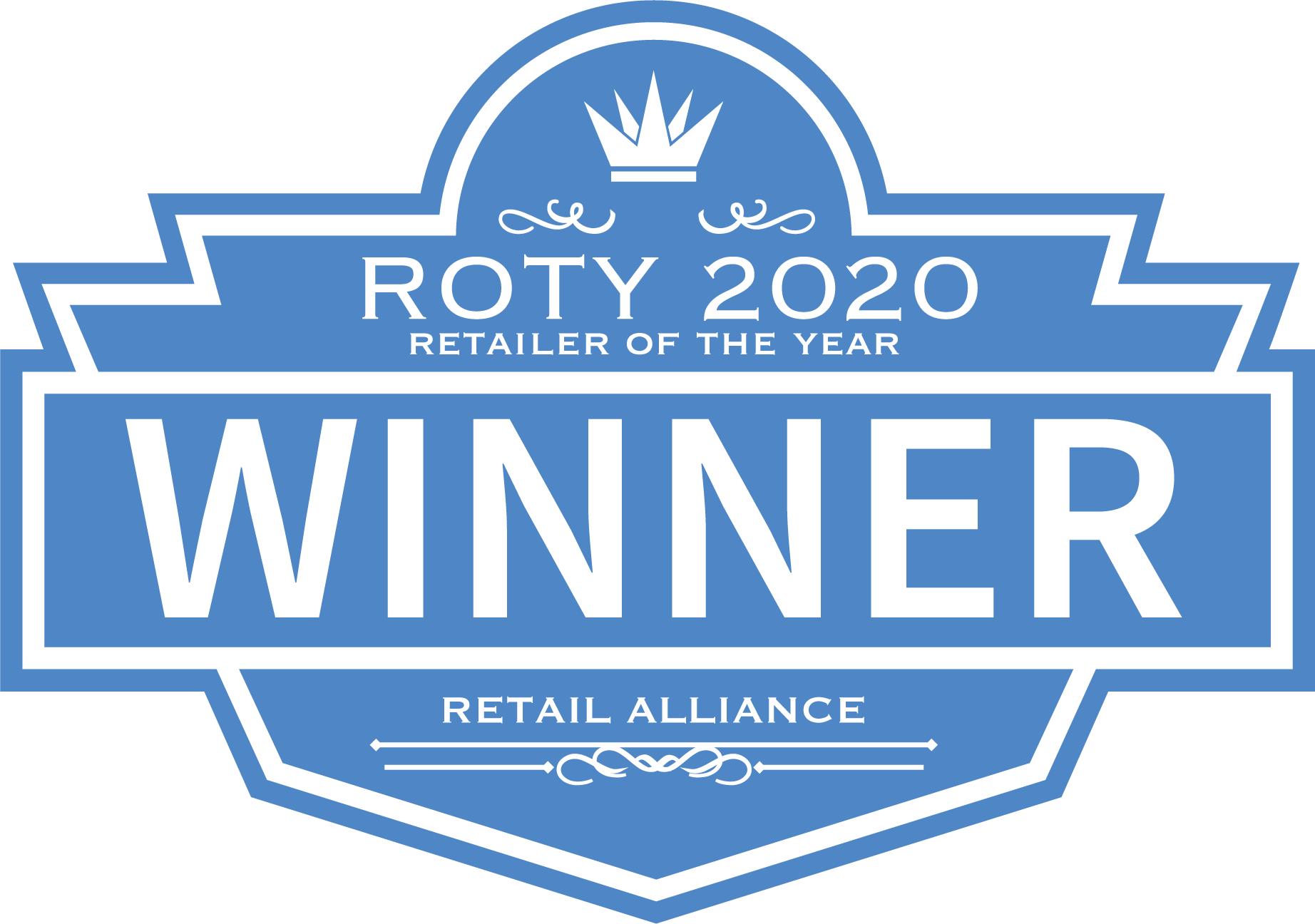 ROTY 2020 award logo